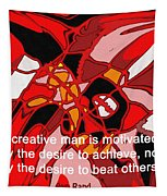 A Creative Man Tapestry