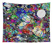 A Dash Of Abstract Imagery Tapestry