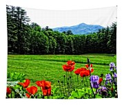A Distant Mount Ascutney Tapestry