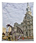 A Dragon In Philly Tapestry