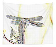 A Dragonfly In My Dreams Tapestry
