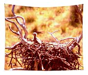 A Eaglet In Down Tapestry