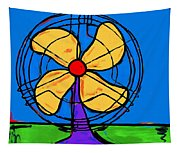 A Fan Of Color Tapestry