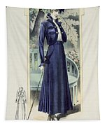 A Fashionable French Lady Tapestry