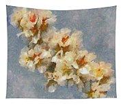 A Flourishing Cherry Branch Tapestry