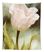 One Beautiful Flower Impressionism Tapestry