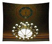 A Franklin Chandelier Tapestry