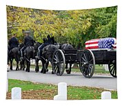 A Funeral In Arlington Tapestry
