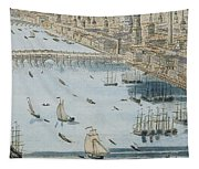 A General View Of The City Of London And The River Thames Tapestry