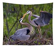 A Gift For The Nest Tapestry