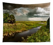 A Glow On The Marsh Tapestry
