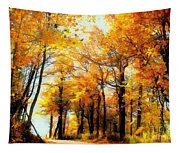 A Golden Day Tapestry