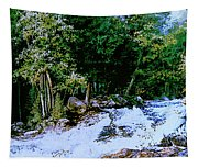A Good Day Fishing Tapestry