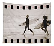 A Good Day To Surf Tapestry