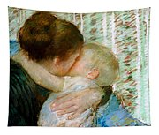 A Goodnight Hug  Tapestry