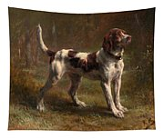 A Limier Briquet Hound Tapestry