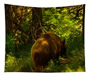 A Little Brown Bear Tapestry