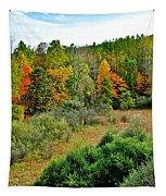 A Lofty Perch Tapestry