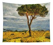A Lonely Pine Tapestry