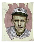 A Man Who Used To Be A Player Tapestry by James W Johnson