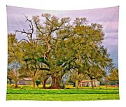 A Mighty Oak - Paint Tapestry