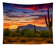 A Painted Desert  Tapestry