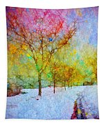 A Painted Winter Tapestry