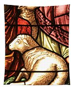 A Pair Of Lambs Tapestry