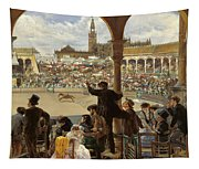 A Pass In The Bullring Tapestry