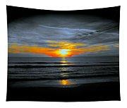 A Phoenix Firebird Sunset Tapestry