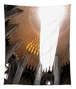 The Light Of Heaven On Earth Tapestry