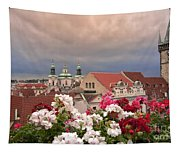 A Rainy Day In Prague 2 Tapestry