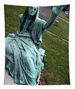 A Raised Hand -- Thomas Trueman Gaff Memorial -- 2 Tapestry