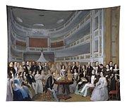A Reading Of Ventura De La Vega Tapestry
