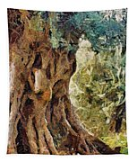 A Really Old Olive Tree Tapestry