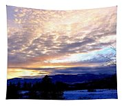 A Remarkable Winter Evening Tapestry