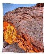 A Slice Of Orange Tapestry