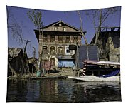 A Slightly More Run Down Section Of The Dal Lake Tapestry