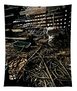 A Snake Pit Of Wires Tapestry