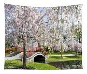 A Spring Walk Tapestry