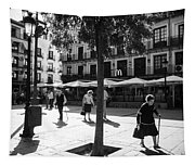 A Square In Toledo - Spain Tapestry