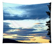 A Stellar Sunset Tapestry