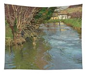 A Stream In Spring Tapestry