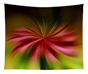 A Swirled Flower Tapestry