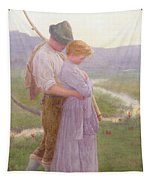 A Tender Moment Tapestry