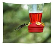 A Tiny Little Ruby-throated Hummingbirds Tapestry