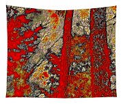 A Touch Of Autumn Abstract Vi Tapestry