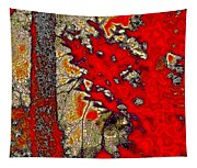A Touch Of Autumn Abstract Vii Tapestry