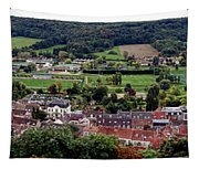 A Town In France Tapestry