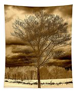 A Tree At Appleton Tapestry